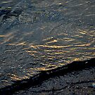 Sun Setting on a Wavelet on the Wash by Billlee