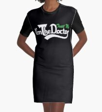 trust me i'm the doctor typograph Carls style Graphic T-Shirt Dress