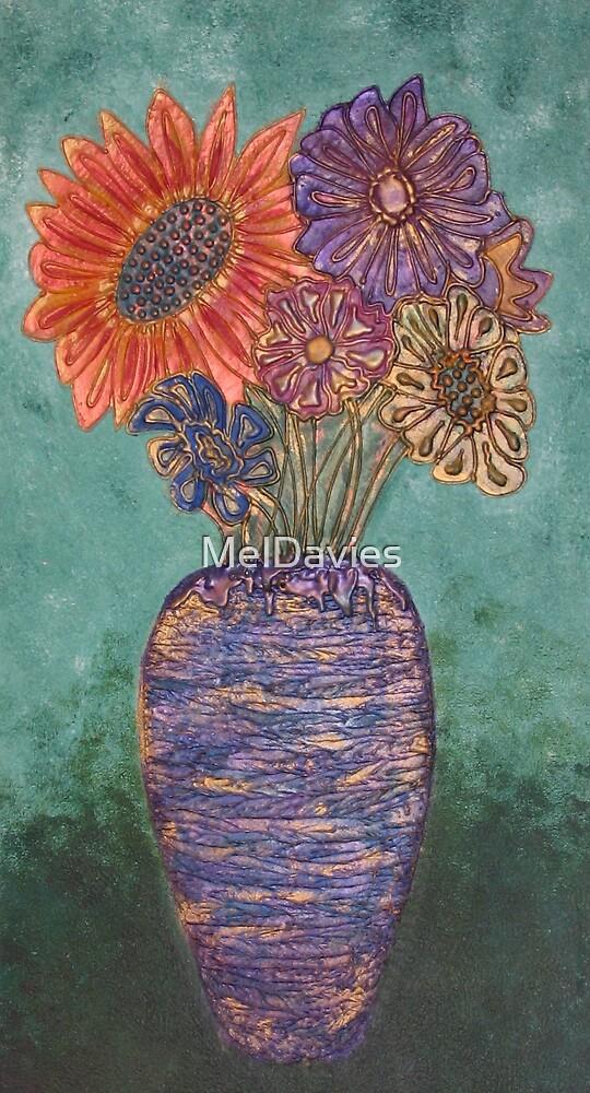 Vase of stolen flowers by MelDavies