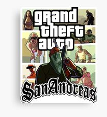 GTA SAN ANDREAS Canvas Print