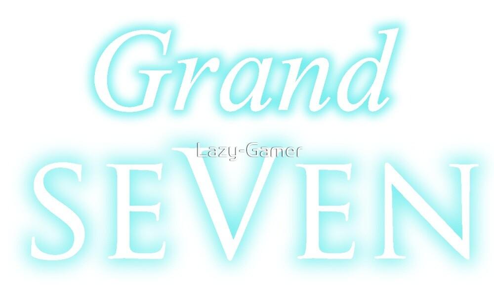 Grand SeVen Logo Merchandise  by Lazy-Gamer