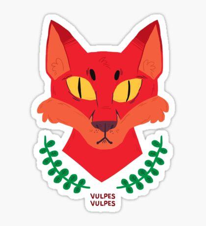 Vulpes Vulpes Sticker