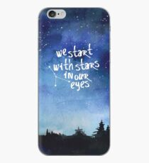 Stars In Our Eyes - Cancer iPhone Case