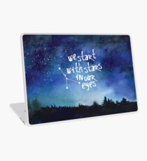 Stars In Our Eyes - Cancer Laptop Skin
