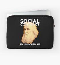 Lysander Spooner Social Contract Laptop Sleeve