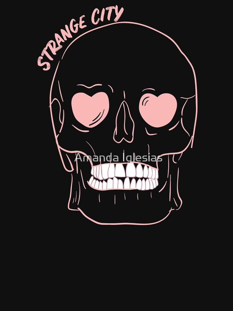 Black Heart Skull by strangecity