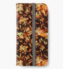 Gryphon Batik - Earth Tones iPhone Wallet/Case/Skin