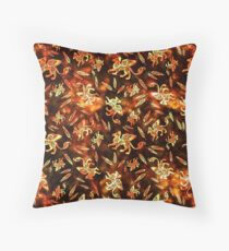 Gryphon Batik - Earth Tones Throw Pillow