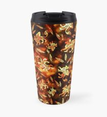 Gryphon Batik - Earth Tones Travel Mug