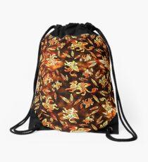 Gryphon Batik - Earth Tones Drawstring Bag