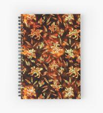 Gryphon Batik - Earth Tones Spiral Notebook