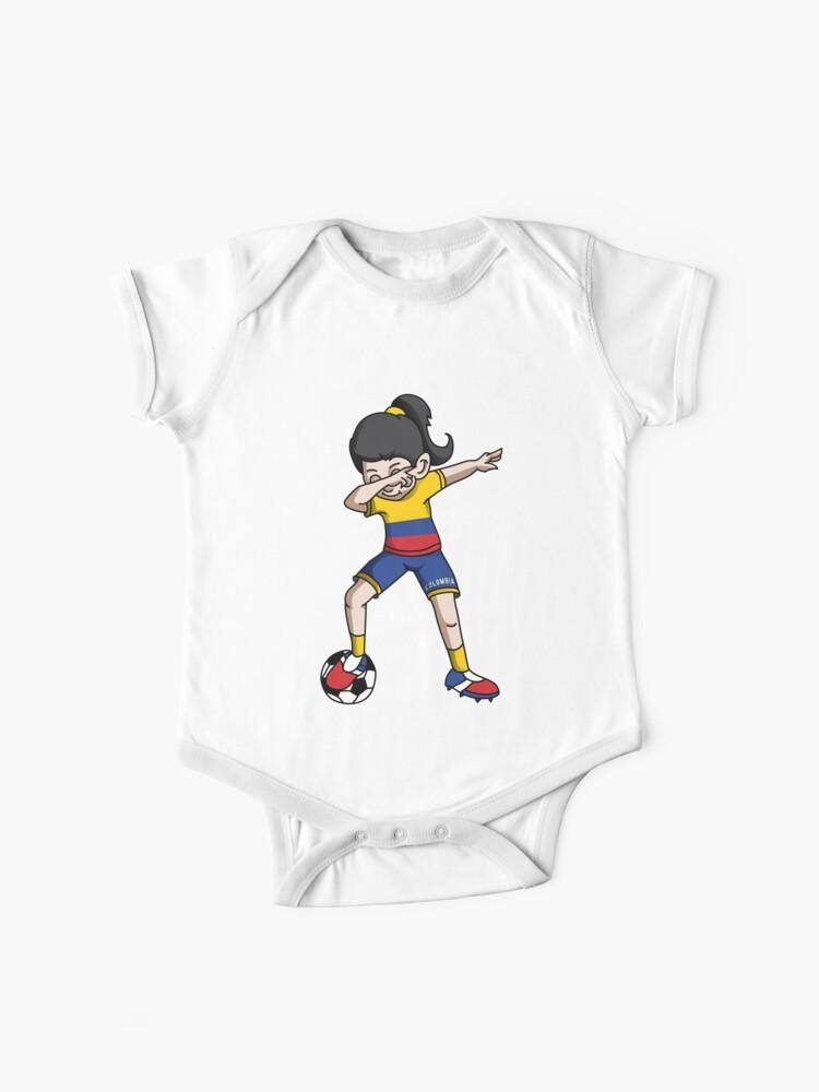 Mexico Bodysuit Soccer Baby National team flag Infant Girls Boys T-shirt Kids
