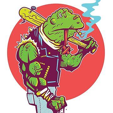 Bad Bullfrog by strangethingsA