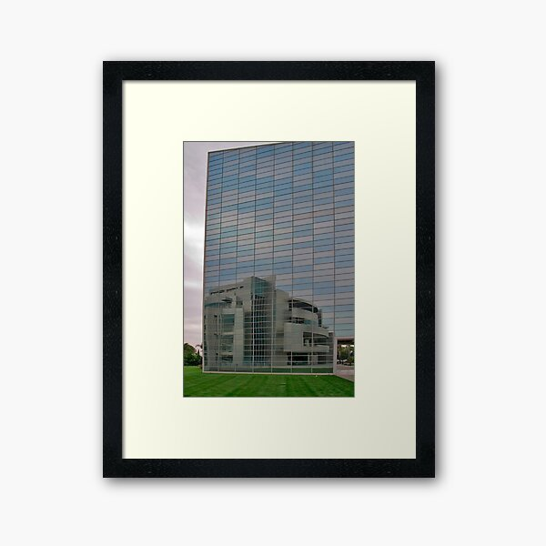 Looking Back and Forth Framed Art Print
