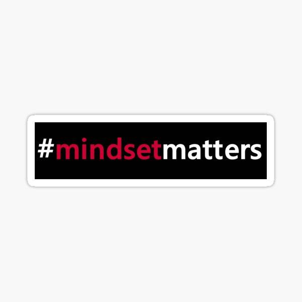 #mindsetmatters Sticker