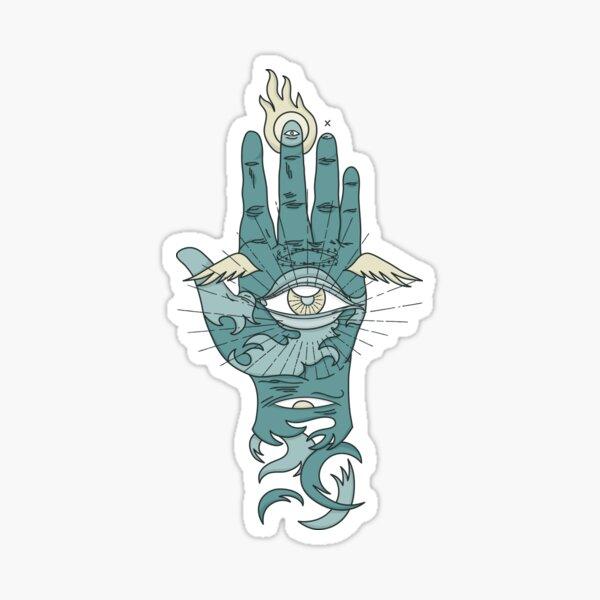 Sacred Hand Sticker