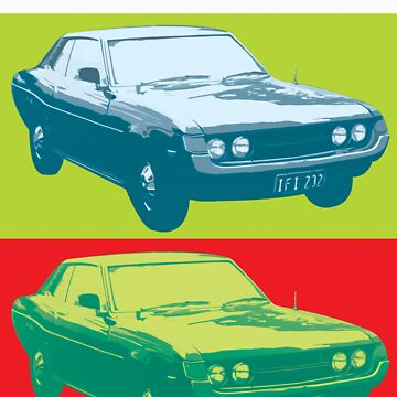 Celica TA22 x 2 pop art by neroli