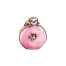Doughnut Loving Sloth by Artidt