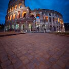 Colosseum at Night by jswolfphoto