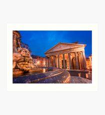 Pantheon Art Print