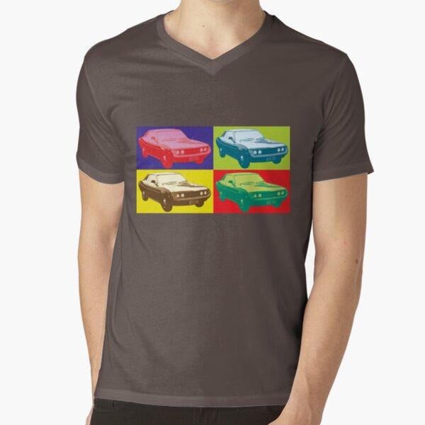 Celica TA22 pop art style V-Neck T-Shirt