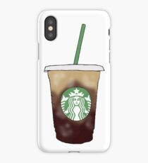Starbucks Vanilla Sweet Cream Cold Brew iPhone Case