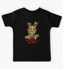 Five Nights At Freddy's Springtrap Kids Tee