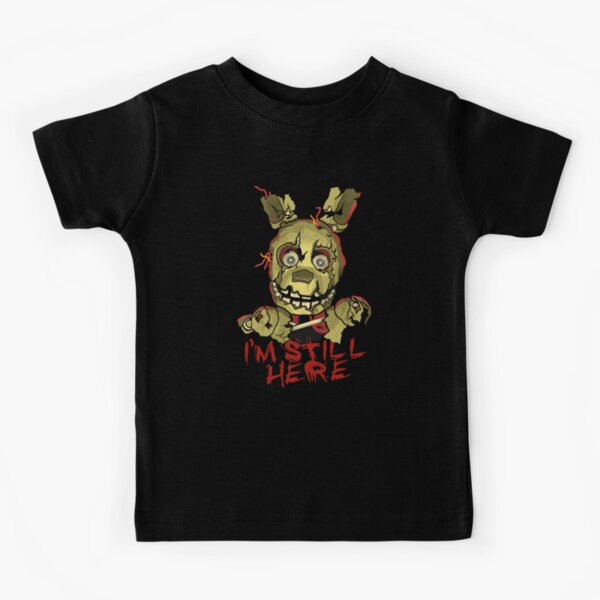 Five Nights At Freddy's Springtrap Kids T-Shirt