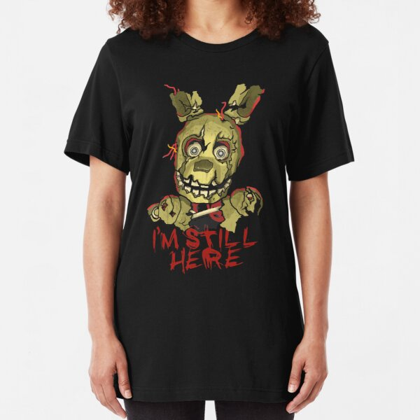 Five Nights At Freddy's Springtrap Slim Fit T-Shirt