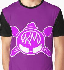 Katie MacKenzie Art & Design - Pink Logo Graphic T-Shirt