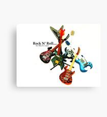Rock N' Roll... Canvas Print