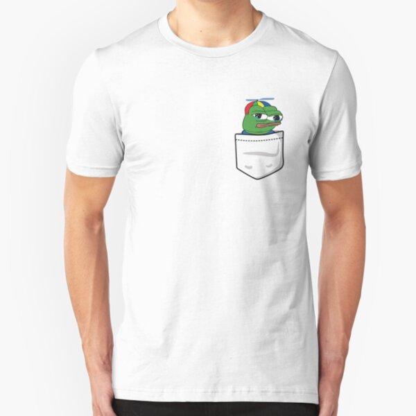 Pepe the Frog Pocket Kid/'s T-Shirt Children Boys Girls Unisex Top