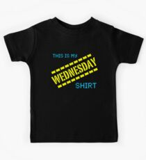 My Wednesday Shirt Kids Tee