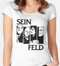 Black Flag / Seinfeld Tee Women's Fitted Scoop T-Shirt