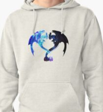 Dragon Heart (Toothless and Light Fury) Pullover Hoodie