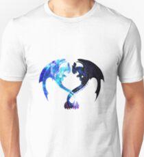 Drachenherz (zahnlos und leichte Wut) Unisex T-Shirt