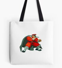 Street Fighter Alpha - M. Bison Tote Bag