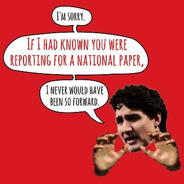 Touchy Trudeau by WhoIsJohnMalt