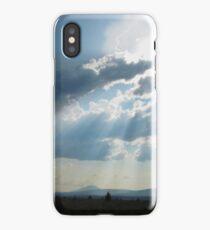 Radiant Sunbeams iPhone Case
