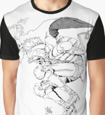 Gladiat-grr Graphic T-Shirt