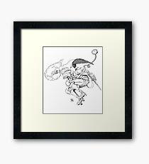 Gladiat-grr Framed Print