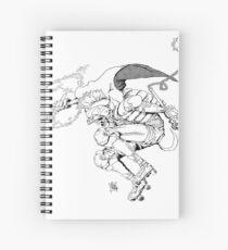 Gladiat-grr Spiral Notebook