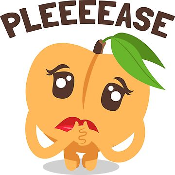 Pleeeease Peach Emoji by joypixels