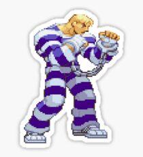 Street Fighter Alpha - Cody Sticker