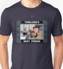 Timelord's Best Friend (Color) Unisex T-Shirt