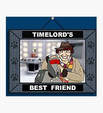 Timelord's Best Friend (Color) Photographic Print