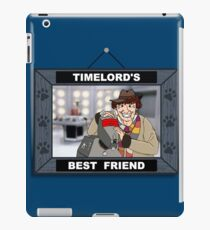 Timelord's Best Friend (Color) iPad Case/Skin