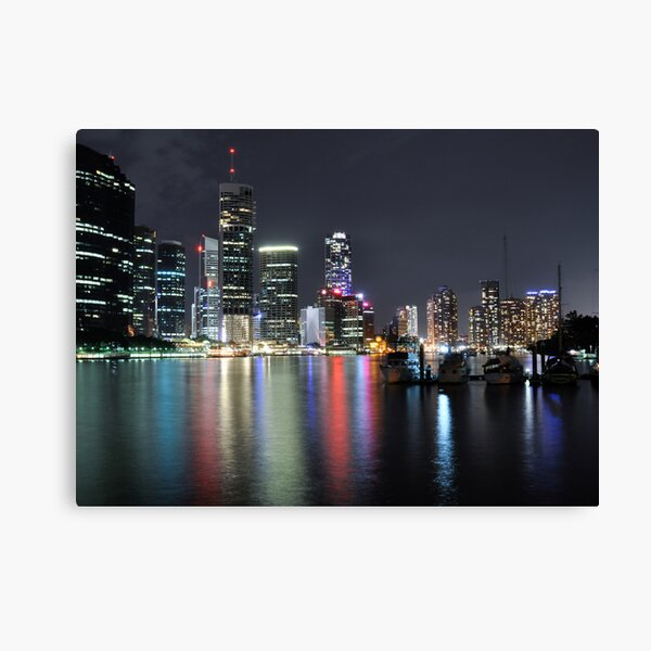 Brisbane River Canvas Print