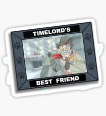 An Old Forgotten Friend Sticker