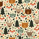 Woodland Creatures by megdig